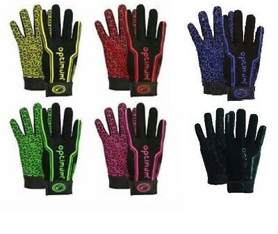 Rugby Gloves Mitts Mits Thermal Sports Grip  Optimum Age 4-13