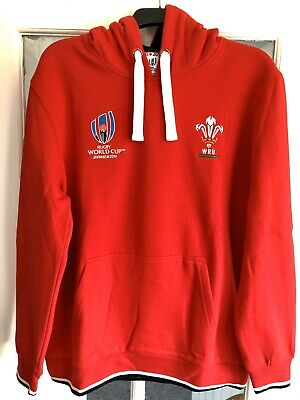 Wales Rugby World Cup Japan 2019 Hoodie size Large Brand New with Tags