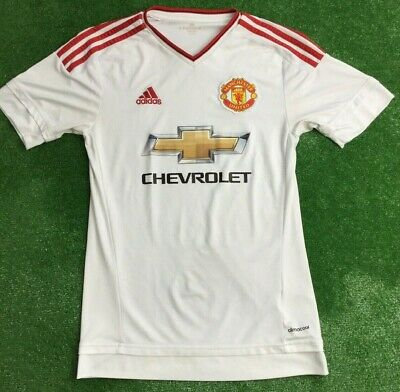 Manchester United 2015-16 Away Football Shirt Extra Small Adult