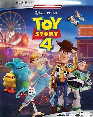 Toy Story 4 Blu-Ray Disc & Bonus Disc Only! Free Shipping!
