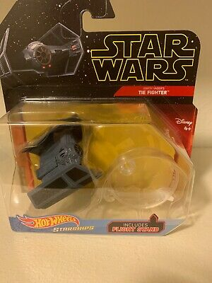 2019 Hot Wheels Starships Star Wars Darth Vader's Tie Fighter Disney Diecast
