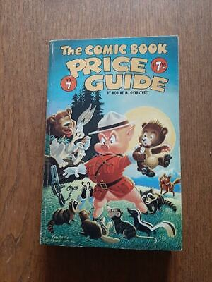 OVERSTREET COMIC BOOK PRICE GUIDE 7th ED. - (#7 1977 - Carl Barks) VG -FN