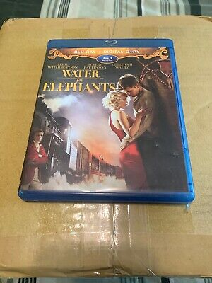WATER for ELEPHANTS (2011) 2-Disc Blu-ray Set Reese Witherspoon Robert Pattinson