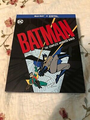 Batman: The Complete Animated Series on BluRay (no Digital Copy)