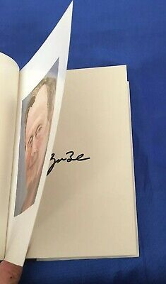 "George W Bush SIGNED Book ""41 :A Portrait Of My Father"" 1st Printing Fine HB/DJ"