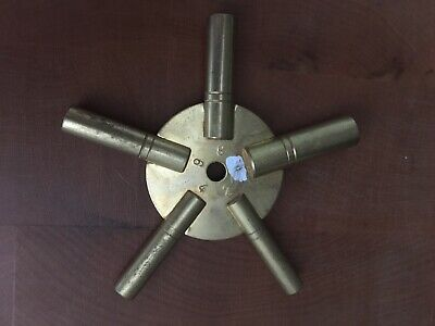 Brass Clock Spider Key Winding Keys 2-10 New Clocks Tool