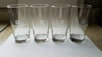 GM Goodwrench Service Drinking Glasses - Set of Four