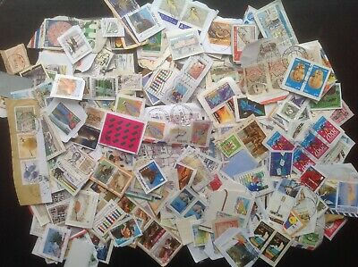 400 Grams WORLD Commemorative Stamps On paper Kiloware Lovely Selection