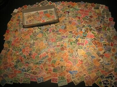 Stamps Collection Untouched For Years Kiloware Worldwide Stamps Old Lot 4
