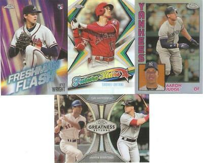 2019 Topps Chrome Refractor Inserts ***You Pick***