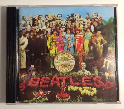 Sgt. Pepper's Lonely Hearts Club Band by The Beatles (CD, 1987) WEST GERMANY