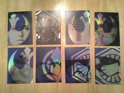 Topps Star Wars Journey to The Rise of Skywalker Foil Character set
