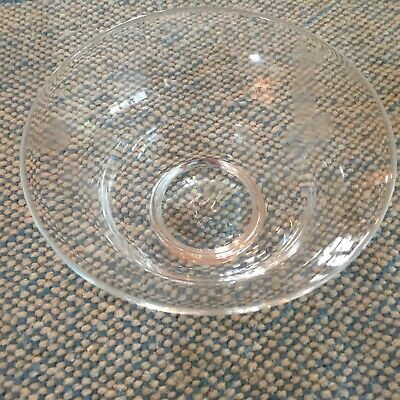 Simon Pearce Small Sherburne Hand Blown Bowl from Vermont with Pontil Signed