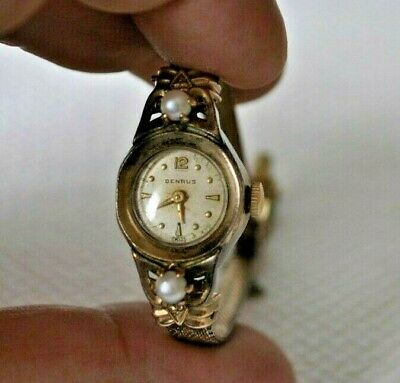 Watch Benrus GOLD PLATED 10 K STILL WORK VERY OLD VINTAGE...