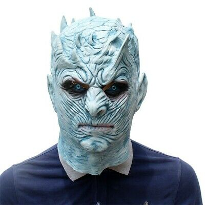 The game of Thrones Night's King Latex Mask Halloween ship from Canada