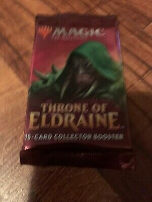 Magic the Gathering MTG THRONE of ELDRAINE Collector's Sealed Booster Pack