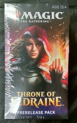 Magic the Gathering MtG Throne of Eldraine Prerelease Kit box Sealed NEW!