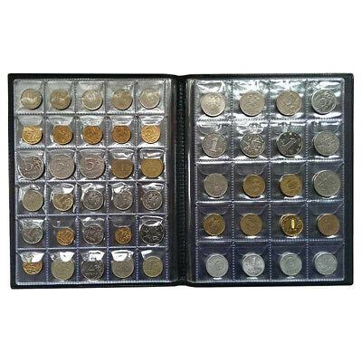 250 Coin Holder Collecting Collection Storage Money Pocket Penny Album Book