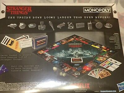 Monopoly Stranger Things Collectors Edition Board Game 2019 Ages 14+ New Sealed