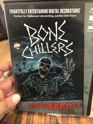 DVD AtmosFEARfx Bone Chillers Digital Decorations
