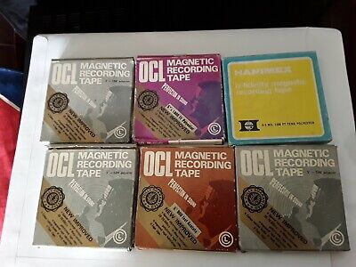 OCL Magnetic Recording Tape×5