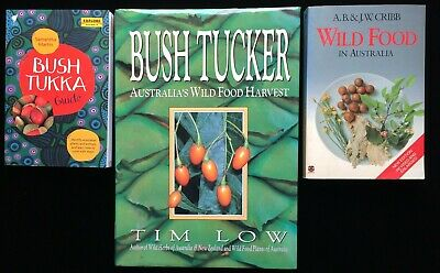 Bush Tukka Guide Bush Tucker Tim Low Wild Food in Australia Cribb Aboriginal