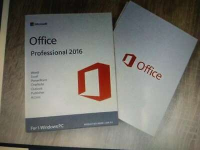 Microsoft Office 2016 Professional Pro Key Full Version Windows PC🔥10s Delivery