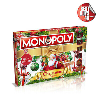 Monopoly Christmas Limited Edition Board Game **New**