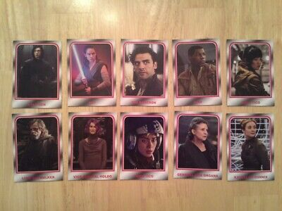 Topps Star Wars Journey to The Rise of Skywalker Choose Your Destiny set