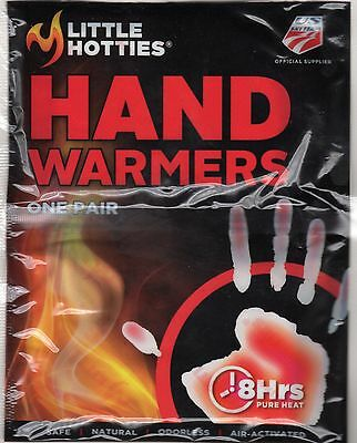 Little Hotties Hand Warmers Handwarmers Natural Heat Odorless Air Activated New