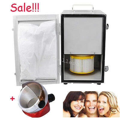 Quality Dental Digital Single-Row Dust Collector Vacuum Cleaner Suction Base FDA