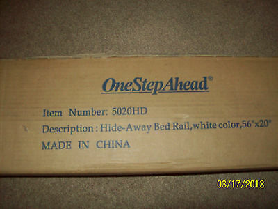 One step ahead hide away bed rail new in box never used