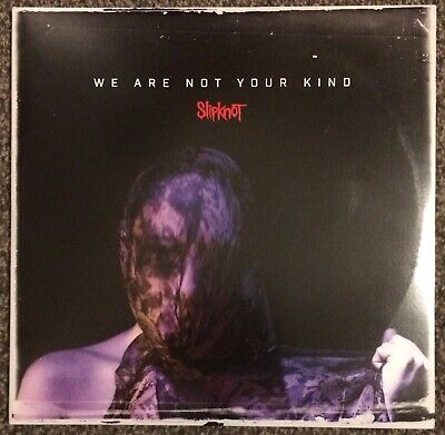 Slipknot - We Are Not Your Kind 2019 metal grey LP - w/ insert, download - Nice!