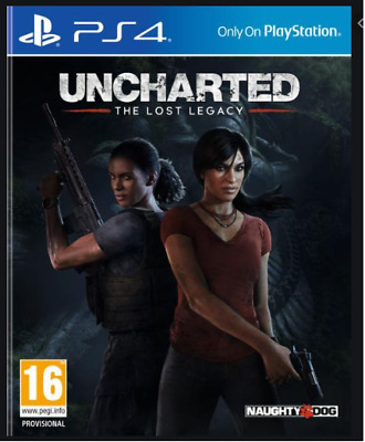 Uncharted The Lost Legacy PS4 NEW DISPATCHING TODAY BY 2 P.M.