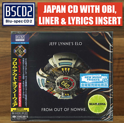 Japan Only Bluspec Cd Sent 2.Nov From Berlin! Jeff Lynne Elo From Out Of Nowhere