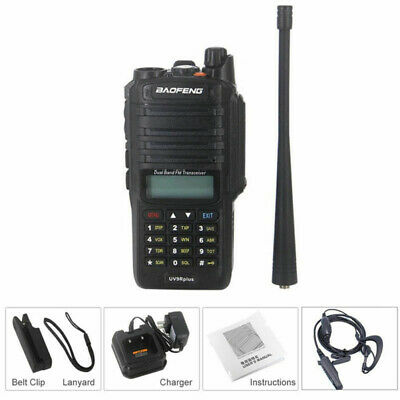 Baofeng UV-9R Plus Walkie Talkie IP67 Waterproof Radio VHF UHF Transceiver Set
