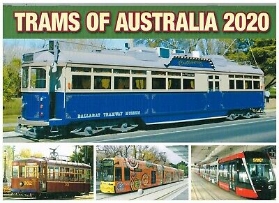Trams Of Australia 2020 Calendar