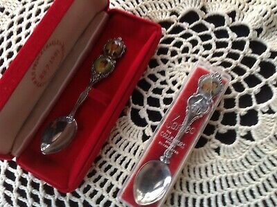 Charles And Diana Commemorative Spoons - Wedding 1981 - Silver plated - two