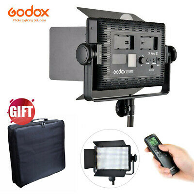 Godox LED500C 3300K-5600K LED Video Continuous Light Lamp Panel (Lux: 2900)