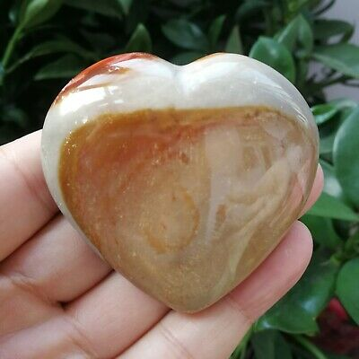 115.2g Natural Energy Stone Sea Stone Ancient Rock Specimen Heart-shaped