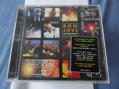 One Wild Night von Bon Jovi (2001) 731454886529 CD