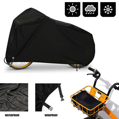 NEW Mountain Bicycle Rain Cover Waterproof Heavy Duty Dust Cover w Storage Bag