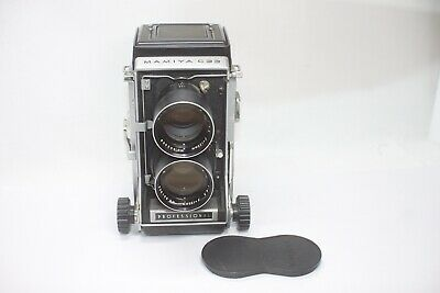 AS IS Mamiya C33 Professional TLR Camera Sekor 135mm F4.5 Lens Made In Japan