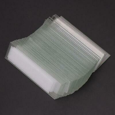 50 Pcs 1mm Glass Cavity Coverslips Single Concave Microscope Slides Sample Cover