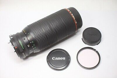 Canon New FD NFD 100-300mm f/5.6 L MF Zoom Lens Made In Japan