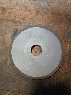 Norton Diamond Wheel 1A1 ASD320-R75B99-1/4, 6 x 1-1/4 x 1/2