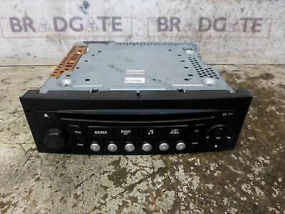 Peugeot 207 2006-2009 Cd Player - 96613826Xt