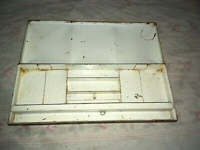Vintage Windsor And Newton? Metal Paint Box With Sections