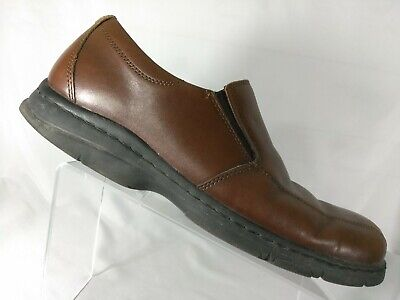 Dunham by New Balance Brown Leather Loafer Slip On Shoes Men's Size 12