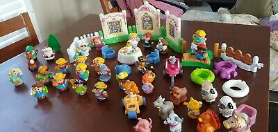 Fisher price little people lot